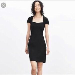 Banana Republic Sloan Dress Black